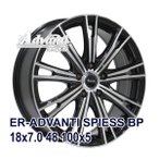 【4枚セット】Advanti ER-ADVANTI SPIESS 18x7.0 +48 100x5 BP クーポン配布中