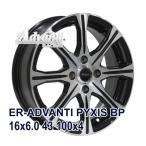 【4枚セット】Advanti ER-ADVANTI PYXIS 16x6.0 +43 100x4 BP