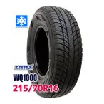 スタッドレスタイヤ ZEETEX WQ1000 スタッドレス 215/70R16 100H 2020年製