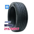 ショッピングスタッドレスタイヤ スタッドレスタイヤ ZEETEX WH1000 スタッドレス 215/55R17 98V XL