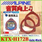 アルパイン ホンダ車用 インナーバッフルボード KTX-H172B