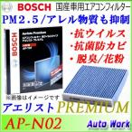 高性能カーエアコンフィルター ニッサン用 AP-N02 ボッシュ アエリストプレミアム 純正交換フィルター