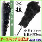 毛ばたき 高級羽毛オーストリッチ 日本製 全長100cm No.10000 (20100) D100 車用 大型車/中型車