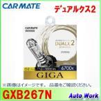 カーメイト GIGA 純正交換HIDバルブ DUALX2 GXB267N デュアルクス2 D2R/D2S共通 6700K