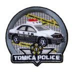 【ワッペン】 トミカ(トヨタ クラウン パトロールカー) TC502-60921  アイロン接着 ※クロネコメール便・ゆうメール・ゆうパケットOK! 【C3-8】