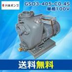 【大型】GSO3-405-C0.4S 単相100V 50Hz GSO-C形 小型自吸うず巻ポンプ(2極)HLS_DUsmtb-kfs04gm