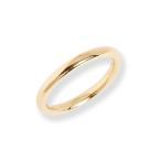 リング 指輪 ゴールド 甲丸 ペアリング 結婚指輪 マリッジリング レディース シンプル k10 10k 10金 k18 18k 18金 大人 女性 上品 ギフト プレゼント 「Nude」