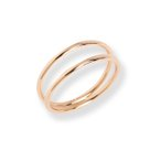 【ポイント10倍】 リング レディース K18 ゴールド ダブルアーム リング 「Athena Ring」