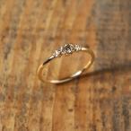 リング レディース K18 ブラウンダイヤモンド リング 「Manon Brown Diamond Ring」