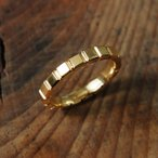 ユニセックス ペアリング 結婚指輪 k10 10k 10金 k18 18k 18金