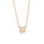 ネックレス レディース ダイヤモンド 一粒 K18 ゴールド 一粒ダイヤネックレス 「PRINCESS」