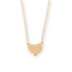 ショッピングネックレス ネックレス ハート レディース K18 ゴールド ハートネックレス 「Tiera」 ギフト プレゼント