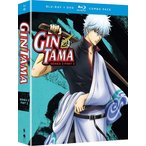 銀魂 第3期 2 BD+DVD 292-316話 625分収録 北米版