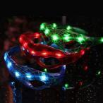 スパイダーマンデザイン3色セットLEDサングラス光るメガネパーティー仮装スパイダーマンデザインコンサートコスプレハロウィンコミケ