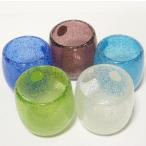 泡ぐい呑み(全5色) 「酒器・琉球ガラス」