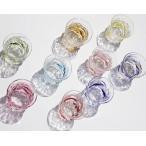 【琉球ガラス】残波玉ぐい飲みグラス(全9色):源河源吉【05P30May15】