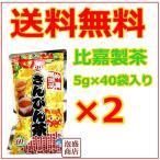 比嘉製茶 お徳用 さんぴん茶 5g×40p 2袋セット  ジャスミンティー