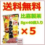 比嘉製茶 お徳用 さんぴん茶 5g×40p 5袋セット  ジャスミン茶