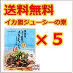 伊江島おっかー自慢のイカ墨じゅーしぃの素 5袋セット、 沖縄産イカスミ使用 沖縄お土産 お取り寄せ
