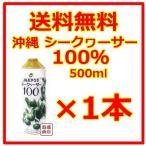 シークヮーサー   シークワーサージュース 100% 原液 JA沖縄  500ml  1本 ノビレチン  青切り