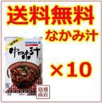 オキハム 中味汁 10個セット 1個あたり350g  沖縄お土産 豚ホルモンスープ