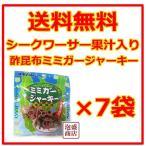 酢昆布ミミガージャーキー  10グラム  7袋セット   シークワーサー果汁入り  オキハム 沖縄ハム