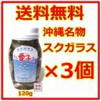 スクガラス 愛子ちゃん 120g 3個セット 魚の塩漬け 沖縄名物