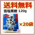 黒糖 雪塩黒糖   黒砂糖   垣之花   120g  20袋セット   1ケース