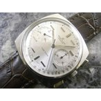 ブライトリング/Breitling TOP TIME /手巻きクロノグラフ クッションケース ユニークインデックス 1966年 アンティーク時計