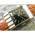ルクルト レクタングル アンティーク フーデッドラグ スモールセコンド lecoultre 黒文字盤 長角 スクエア 手巻き 時計