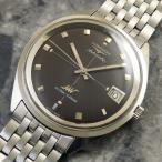 LONGINES(ロンジン) ULTRA-CHRON(ウルトラクロン)自動巻 ブレス付 1969年 アンティーク 時計