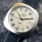 ショッピングアンティーク アンティーク ロンジン LONGINES メンズ ラウンドフェイス BOXタグ付 1972年 自動巻き 時計