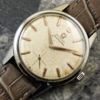 OMEGA オメガ シーマスター 手巻き30mmキャリバー/cal.268 スモールセコンド 1961年 アンティーク 時計