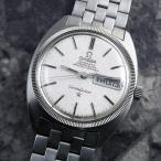 OMEGA コンステレーション ジェラルドジェンタ 前期型 WGベゼル シルバーモザイク ブレス付 1969年 自動巻き オメガCライン
