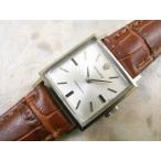 ロレックス スクエア シルバーダイアル 1970年式 手巻き レディースアンティークウオッチ ROLEX プレシジョン 時計
