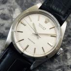 ROLEX ロレックス/OYSTER オイスター Ref.6427 エンジンターンドベゼル ノンデイト 1970年 アンティーク 時計