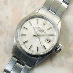 ロレックス オイスターパーペチュアルデイト レディース アンティーク Ref.6519 自動巻き 1964年 ROLEX 時計