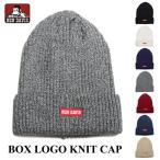 ニットキャップ BEN DAVIS ベンデイビス ニット帽 BDW-9526WP コットンアクリルボックスロゴニットキャップ KNIT CAP 帽子 プレゼント