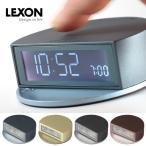 曲線を活かしたメタルカラーの置時計!