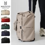 milest ミレスト MLS456 TROTシリーズ ダッフルキャリー バック かばん カバン 鞄 メンズ レディース 旅行かばん トラベル 送料無料