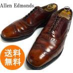 アレンエドモンズ Allen Edmonds Ostendo Cushioned Heel USA製 ウイングチップレザーシューズ US10 1/2C(28~28.5cm相当)(メンズ)(紳士..