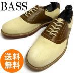 ジーエイチ バスG.H BASS キャンバス ×レザーサドルシューズ 8 1/2D(26.5cm相当)( メンズ )(紳士靴)【中古】【送料無料】