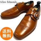 アレンエドモンズ Allen Edmonds Holt  モンクストラップシューズ 9 1/2B(27cm相当)(キャメルブラウン)(メンズ)【中古】【送料無料】