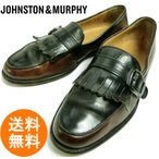 ジョンストン&マーフィー JOHNSTON&MURPHY CELLINI キルトローファー 7M(25cm相当) ( メンズ )【中古】【送料無料】