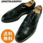 ジョンストン&マーフィー JOHNSTON & MURPHY ウィングチップシューズ 9D(27cm相当) ( メンズ )【中古】【送料無料】