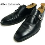 【訳あり】USA製 Allen Edmonds アレンエドモンズ Boston モンクストラップシューズ 11D (29cm相当)(メンズ)【中古】【送料無料】