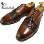 USA製Allen Edmonds アレンエドモンズ Lauderdale ストレートチップシューズ 11D(29cm相当)( メンズ )【中古】【送料無料】