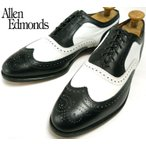 USA製Allen Edmonds アレンエドモンズ BROADSTREET スペクテイターシューズ 12C(29.5-30cm相当)( メンズ )【中古】【送料無料】