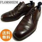 フローシャイム FLORSHEIM プレーントゥシューズ 9D(27cm相当)( メンズ )(茶 ブラウン)【送料無料】【中古】【送料無料】