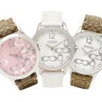 コーチ COACH 時計 ニュークラシックシグネチャー NEW CLASSIC SIGNATURE レディース腕時計ウォッチ ピンク/カーキ 14501621